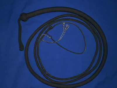 snake whip WHIP NYLON 16 plait 10 ft leather bullwhips whips bullwhip