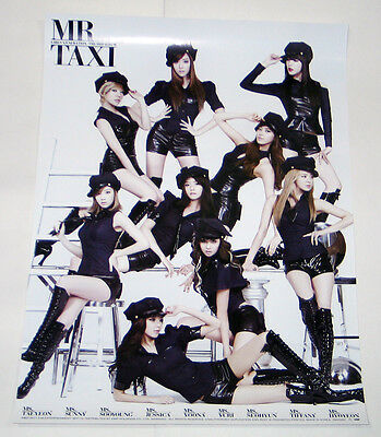 SNSD GIRLS' GENERATION - 3rd Album MR. Taxi Ver  [OFFICIAL POSTER]