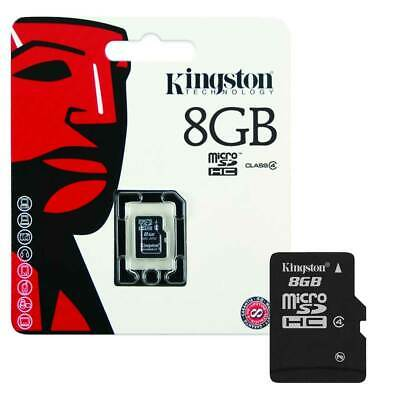 NEW 8GB Kingston Micro SD SDHC Memory Card For Mobile Phone Camera Class 4  8GB