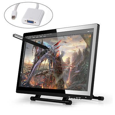 """UGEE 21.5"""" UG-2150 LCD IPS Graphic Tablet Art Drawing 5080LPI Monitor with Pens"""