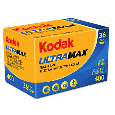 Kodak Gold UltraMax 400ASA 35mm Colour Print Film 135-36 Exposure