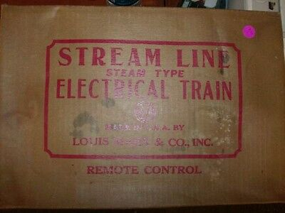 MARX TRAINS NO. 5850 STREAM LINE ELECTRIC TRAIN SET - VERY NICE