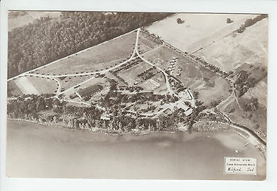 Camp Alexander Mack Milford Indiana Kosciusko County IN Old RPPC Postcard Aerial