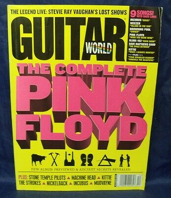 Collectible Guitar World December 2001 The Complete Pink Floyd Cover {N4} AG