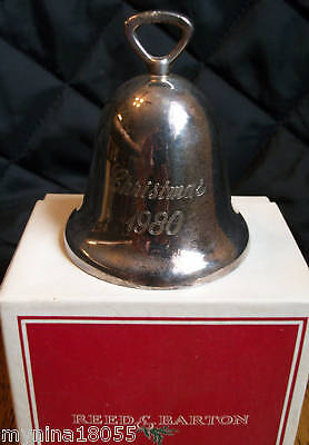 1980 Reed & Barton Silver plate Bell w/ Original Box