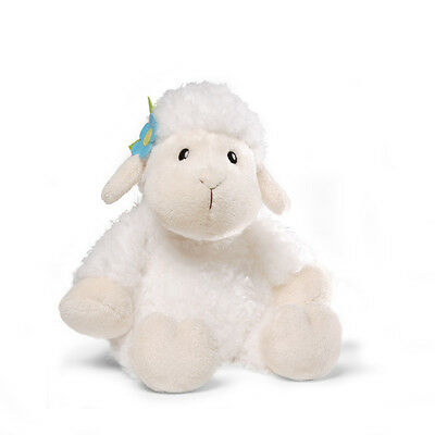 WHITE CUDDLY Easter LAMB Gund Plush Toy NEW Adorable Soft Cuddly Kids Love