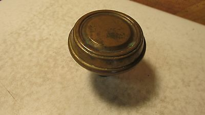 1 Antique Brass Door Knob  No. 18