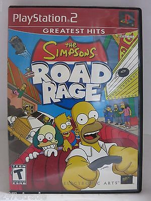The Simpsons Road Rage (Sony PlayStation 2, 2001) COMPLETE