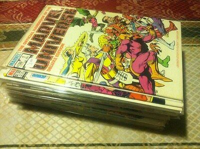 Full Set of The Official Handbook Marvel Universe Deluxe 1-20 Lot