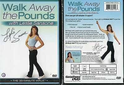 Leslie Sansone Walk Away the Pounds 12 DVD Set New Sealed Free Shipping