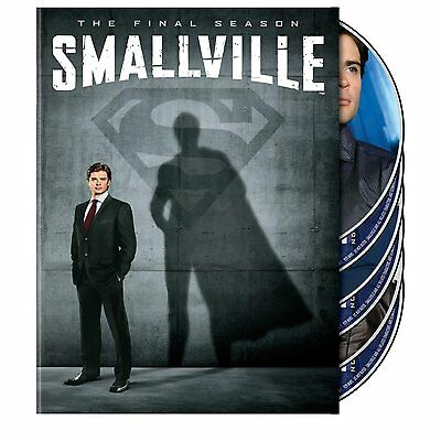 Smallville: The Complete Tenth Season DVD (2010) The Final Season 10 NEW!