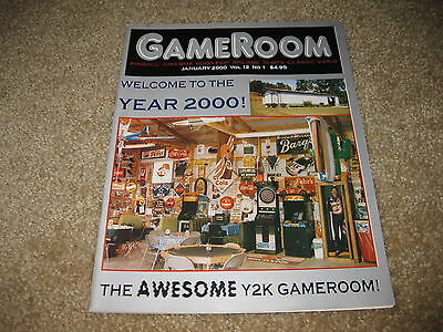 GameRoom Magazine - January 2000 Vol. 12 No. 1 - Welcome To The Year 2000 Y2K