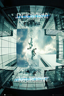 "INSURGENT - MOVIE POSTER / PRINT (TEASER STYLE 2) (SIZE: 24"" x 36"")"