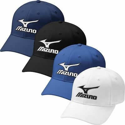 44% OFF Mizuno Performance Tour Fitted Hat Stretch-Fit Mens Golf Cap