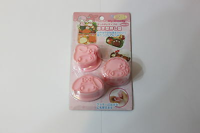 Cute New Japanese Sanrio My Melody Bento Food Cutter Mold for Kids