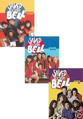 SAVED BY THE BELL COMPLETE TV SEASONS 1 2 3 4  5 Comedy DVD NEW