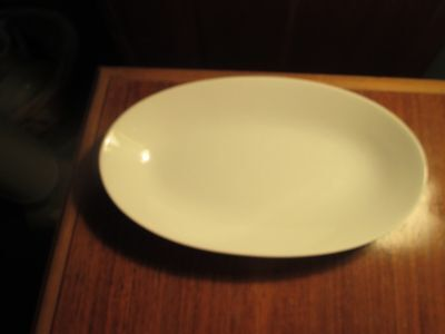 "Hutschenreuther Oval Vegetable Bowl 8-3/4 x 5-1/2"" Coup Undecorated"