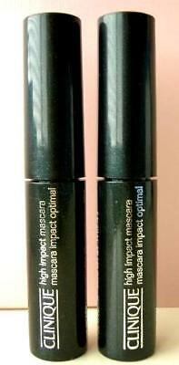2x Clinique High Impact Mascara Black New