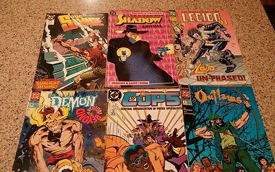 DOC SAVaGE SHaDOW LEGION DR FATE DEMON STORMWATCHER DC COMIC BOOK Lot
