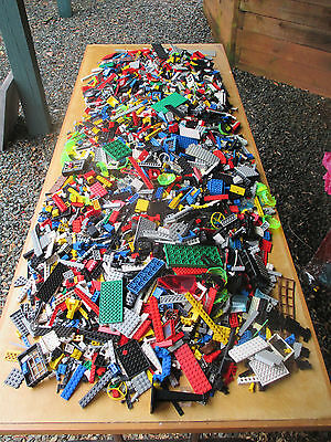 HUGE Lot of Vintage Lego Pieces, Bricks, Accessories and More--25 lbs.!!