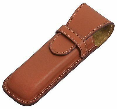 New Pilot Somesu SLS2-01-BN Leather Pen Case Two Difference Brown Japan Best Buy