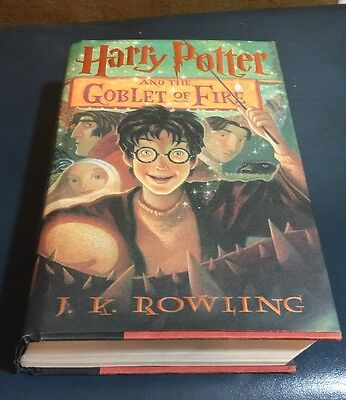 Harry Potter and the Goblet of Fire 4 by J. K. Rowling (2000, Hardcover)