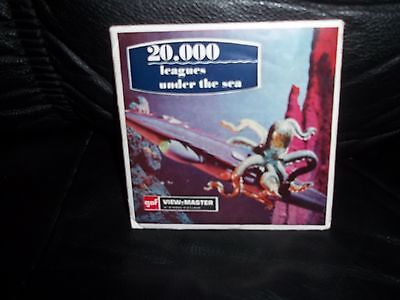 ViewMaster by GAF 1954 20,000 LEAGUES UNDER THE SEA No B 370 E  Ages 4+