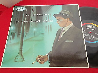 frank  sinatra  (in the  wee  small hours  )  album on  capitol  records 1955 re