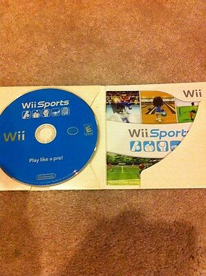 Wii Sports For Nintendo (Wii, 2006) Complete, Game Case And Manual. Cardboard