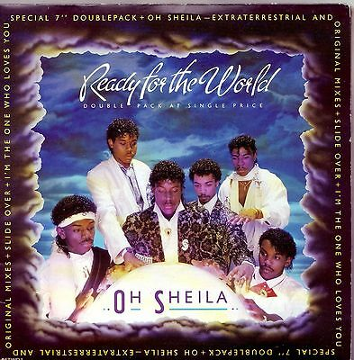 "Ready For The World Oh Sheila Dbl (PS) 7"" Vinyl Single"