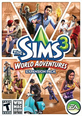 PC/Mac The Sims 3: World Adventures Expansion Pack Brand New!