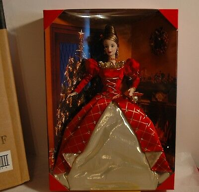 BARBIE HOLIDAY TREASURES FIRST IN SERIES 1999 IN SHIPPER MINT 24669~!~!~!~!~!~!~