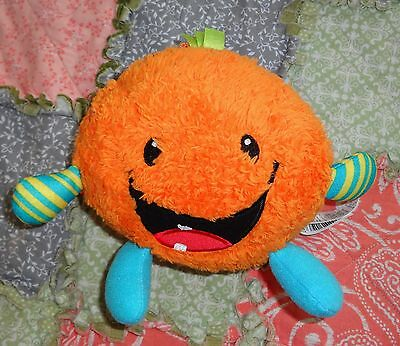 Fisher Price Giggle Gang Fuzzy Orange Soft Plush Toy