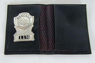 Obsolete Medford Police Badge 119 with Wallet