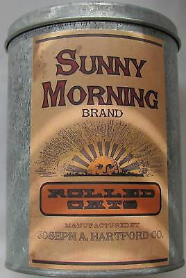 Country Primitive Sunny Morning Oats Kitchen Canister #375
