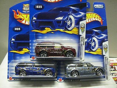 HOT WHEELS MINT ON CARD #35 2003 FIRST EDITION BOOM BOX ALL 3 COLOR VARIATIONS