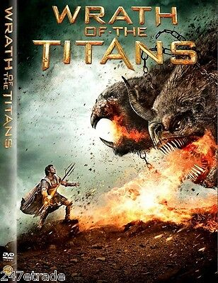Wrath of the Titans (DVD, 2012) DVD DISC ONLY