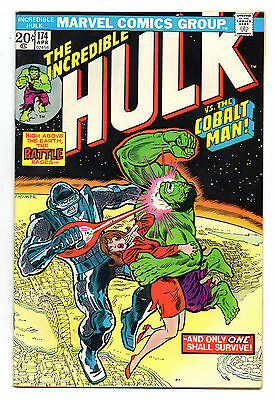Incredible Hulk Vol 1 No 174 Apr 1974 (VFN-) Marvel, Bronze Age (1970 - 1979)