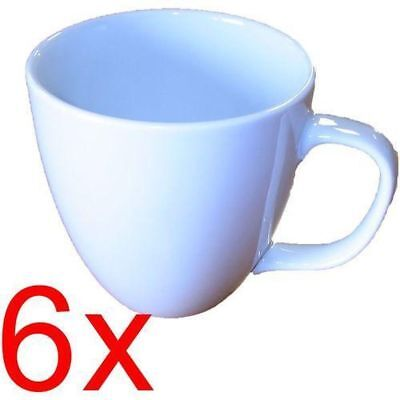 6x Tasse Kaffeetasse NEU 300ml made in Germany Porzellantasse Becher