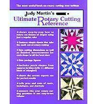 Judy Martin's Ultimate Rotary Cutting Reference, Martin, Judy, Good Book