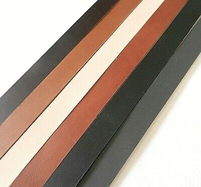 3.5Mm Thick Premium Veg Tan Cowhide Craft Leather Belt Blanks 55+ Inch 140Cm
