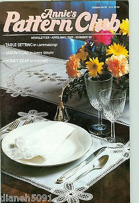 Annie's Pattern Club Back Issue Magazine April/May 1988 # 50