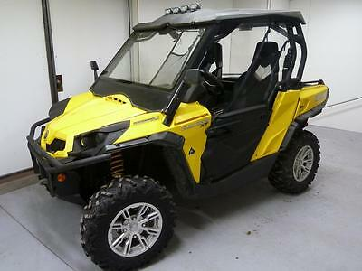 New Brp Utv Commander Half Door Kit Complete 1000 800 Xt X Ltd 2010 - 2013 Doors