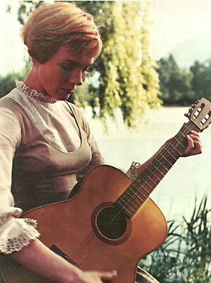 Julie Andrews Clipping Magazine Photo orig 1pg 8x10 N7171
