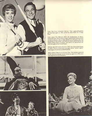 Julie Andrews Mary Martin Clipping Magazine Photo orig 1pg 8x10 F20610