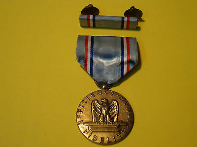 AIR FORCE EFFICIENCY-HONOR-FIDELITY MEDAL WITH RIBBON   *FREE SHIPPING*  L@@K