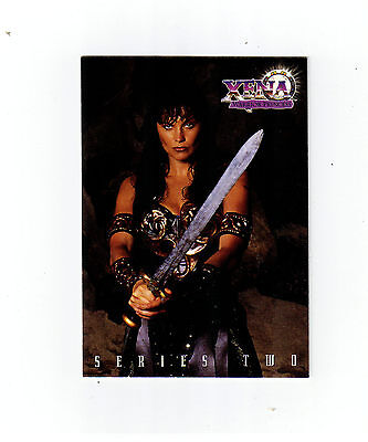 XENA WARRIOR PRINCESS 1998 TOPPS PROMOTIONAL TRADING CARD
