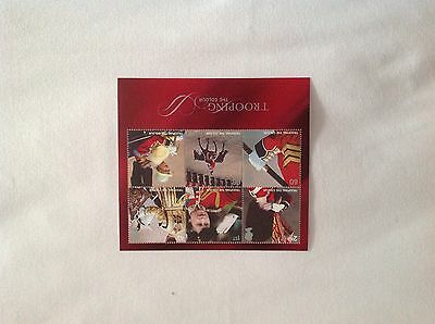 GB 2005 TROOPING THE COLOUR MINIATURE SHEET SG:MS2546 UM Mint