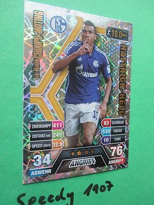 Topps Match Attax extra 14 15 Hattrick Held  Choupo Moting 2014 2015