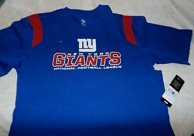 NEW YORK NY GIANTS FOOTBALL JERSEY Youth X Large 18 XL  NFL TEAM APPAREL $25